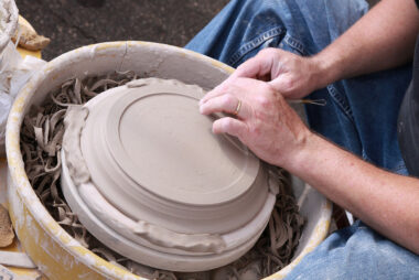 Village-pottery wheel-2009